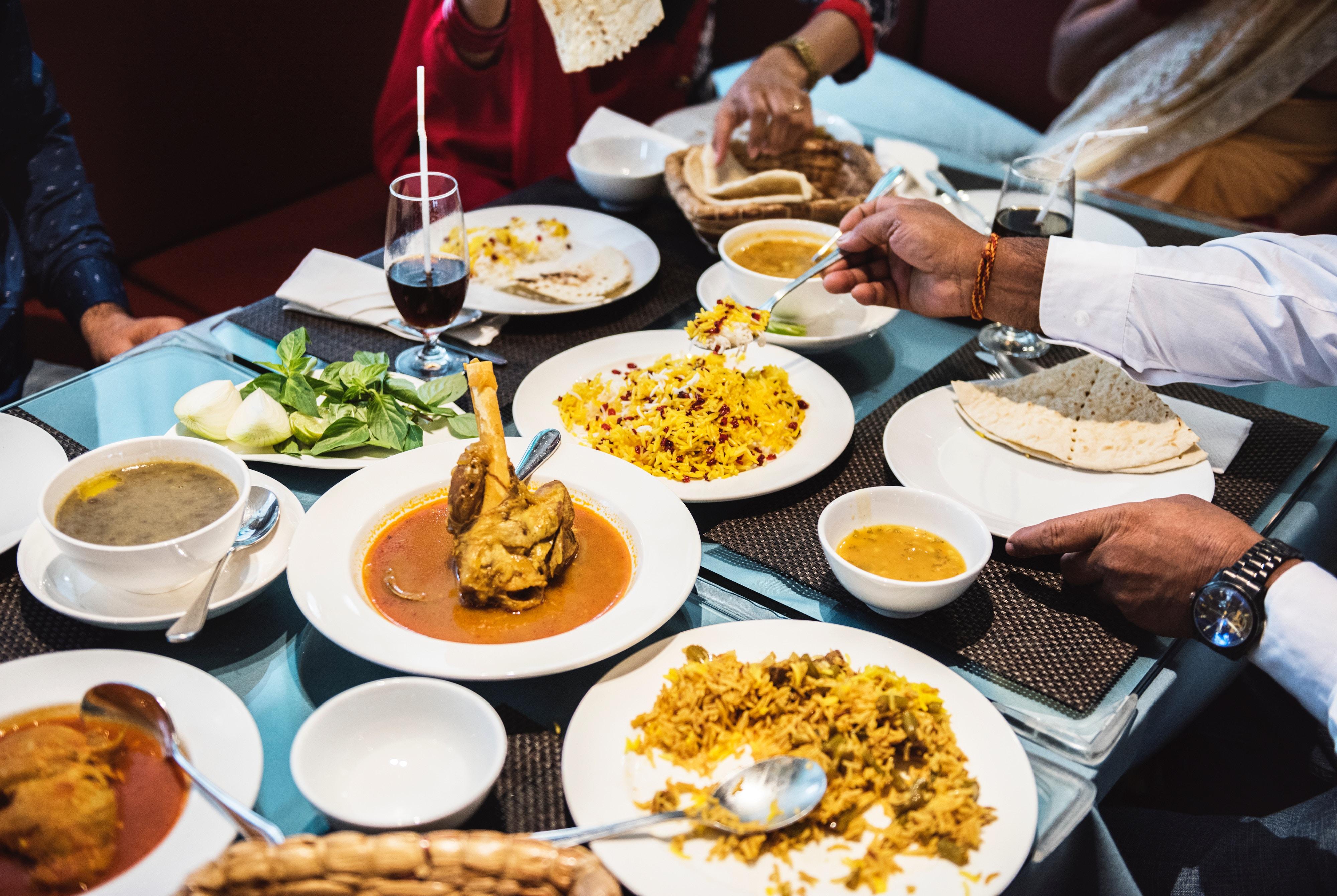 Comidas y cenas de empresa o grupo