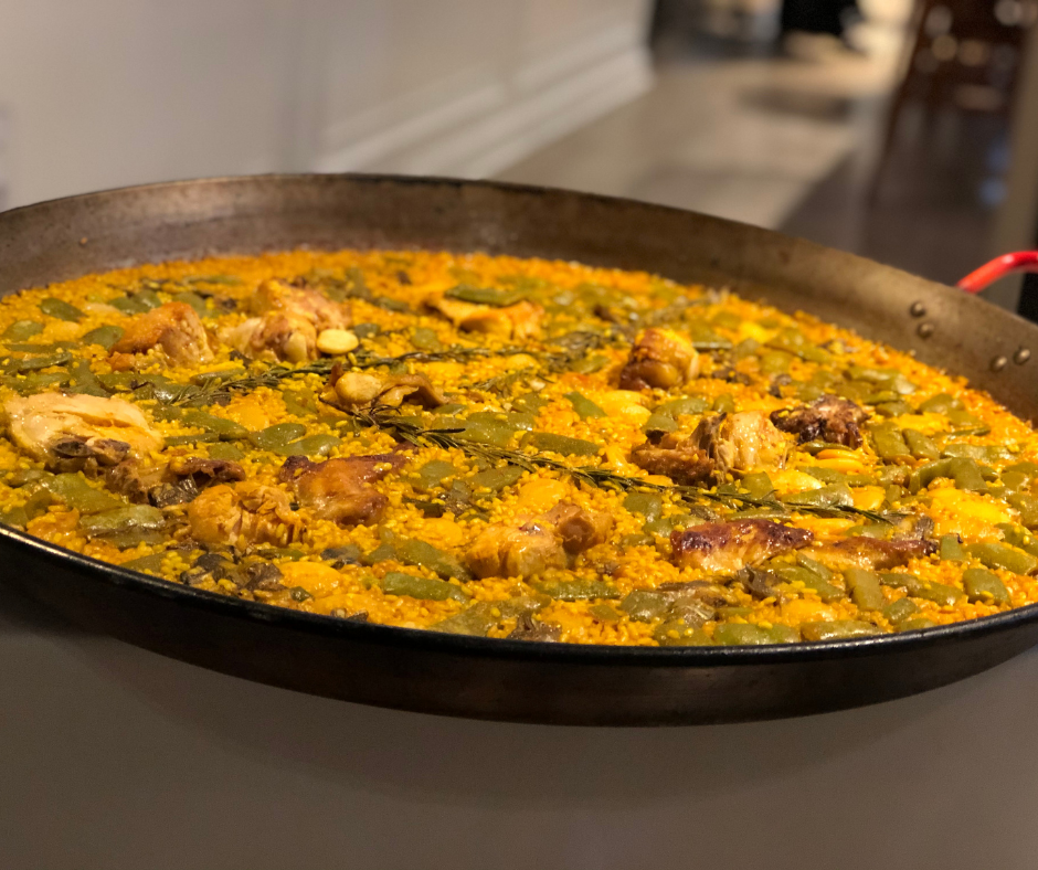 paella valenciana en Valencia