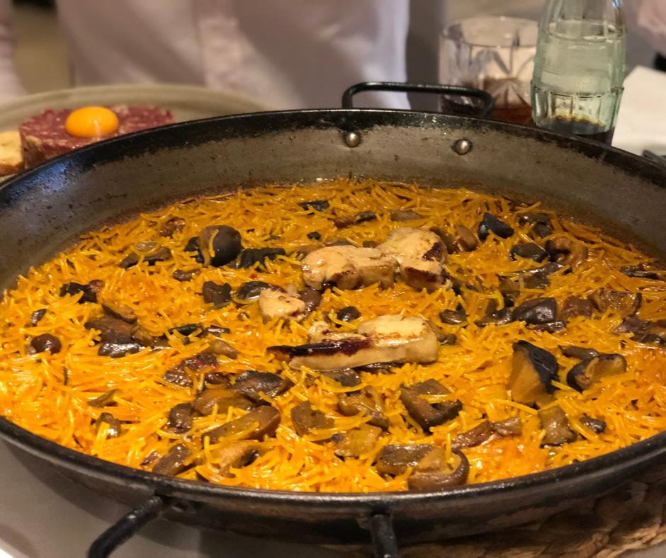 Comer Fideau en Valencia