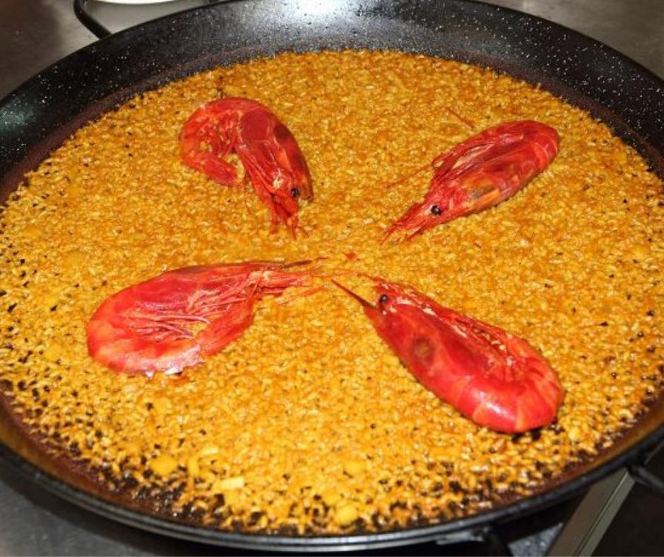 paella de carabineros Valencia